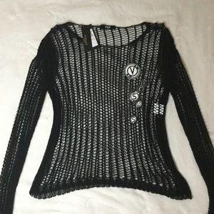 VERSACE Woman Top shirt Black